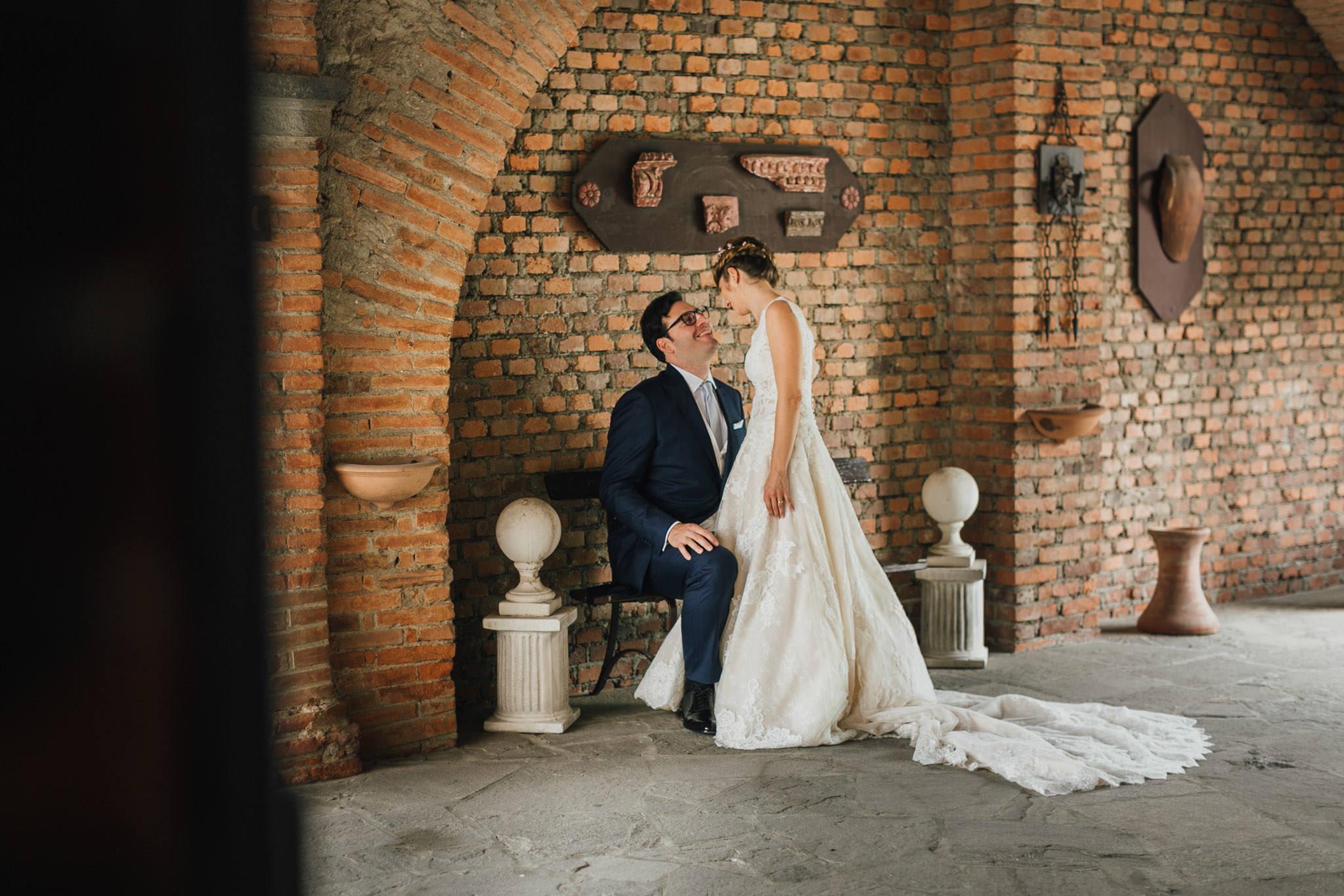 Matrimonio internazionale al Castello della Marigolda